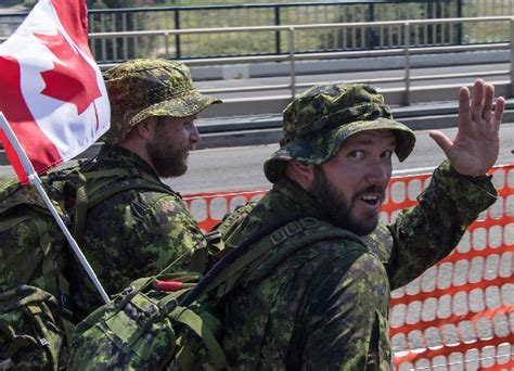 Beards, bare legs, ponytails OK for Canadian military